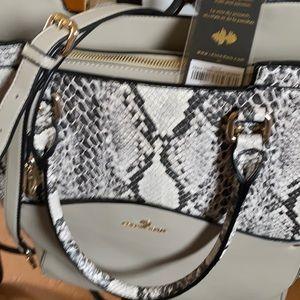 Authentic Celine printed shoulder bag